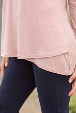 Beauty and the Blush Top