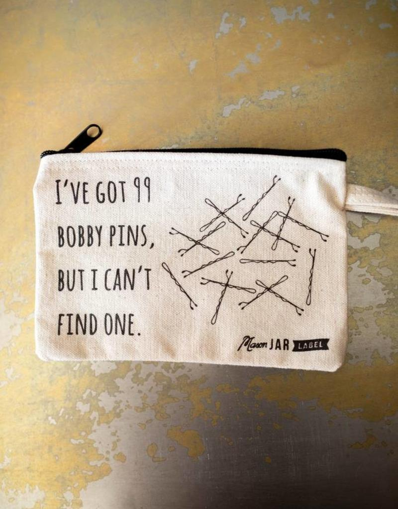 99 Bobby Pins Cosmetic Wristlet