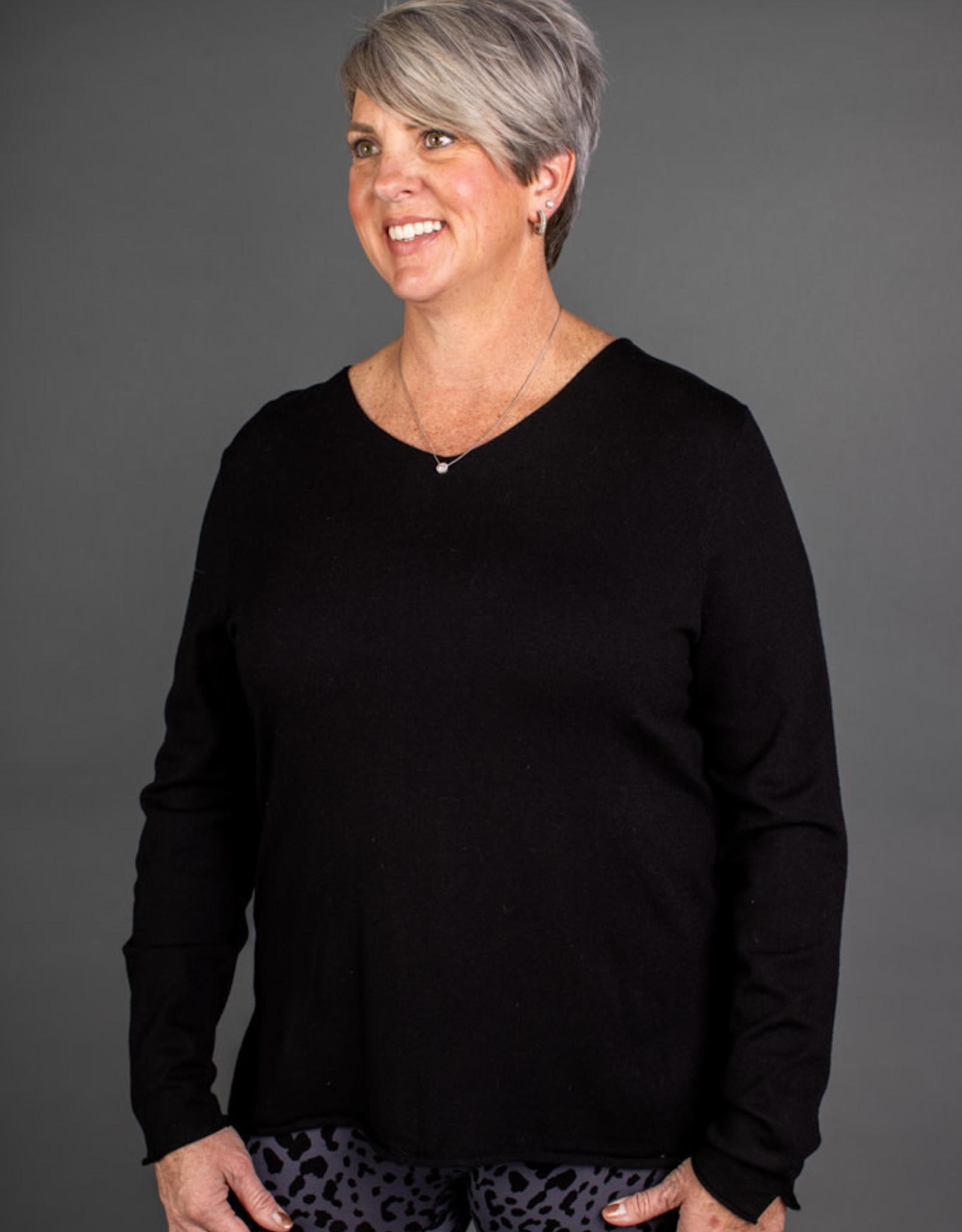 Veronica Vneck Sweater