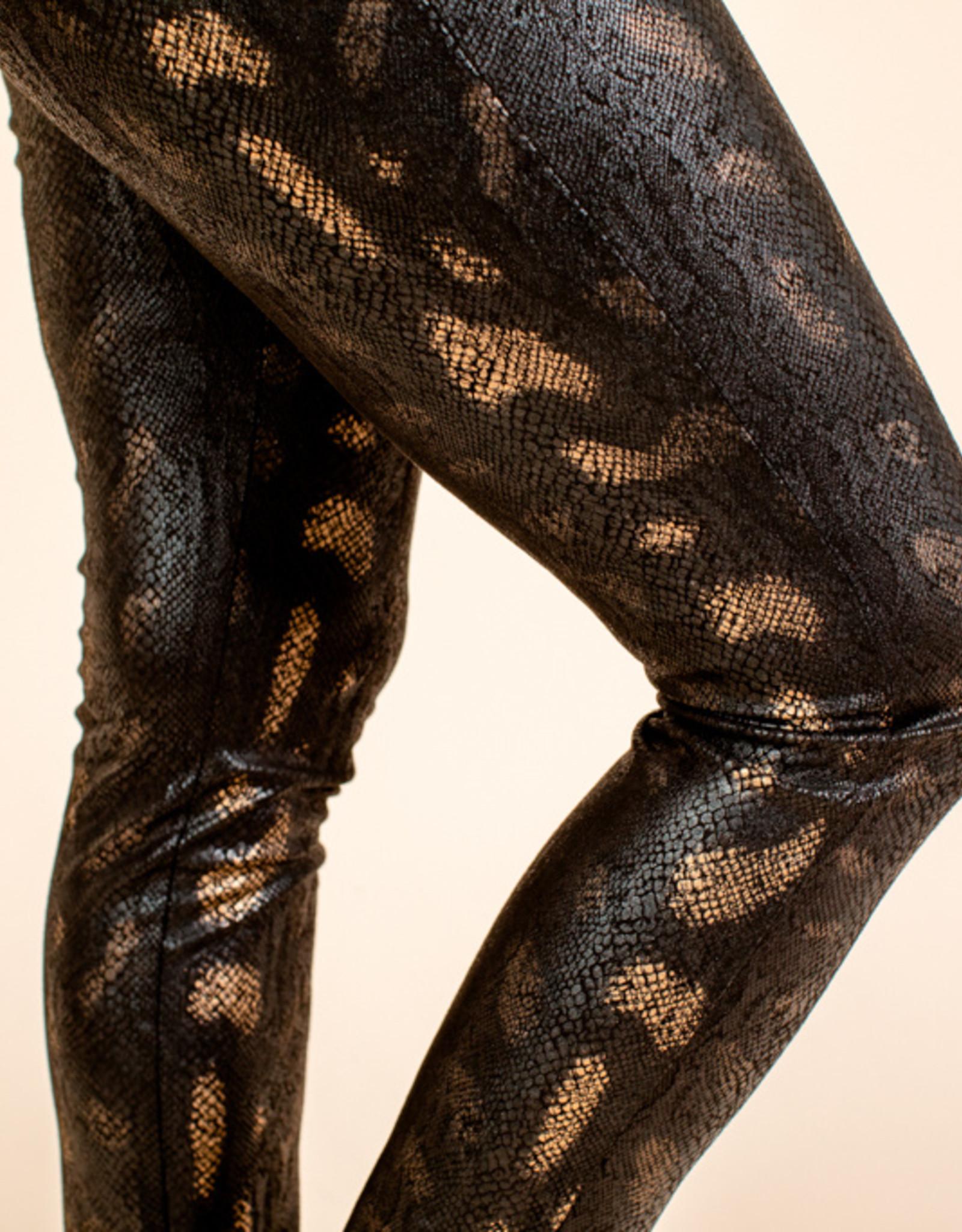 Stella Snake Leggings