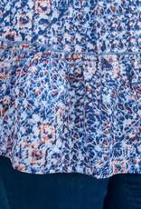 Peplum Printed Tunic