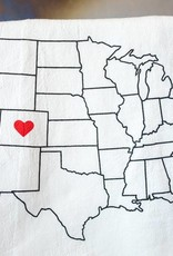 Colorado Love Tea Towel