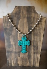Statement Cross Necklace Set