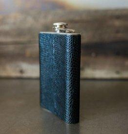 Cowboy 8 oz Leather Flask