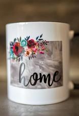 Floral Home Mug