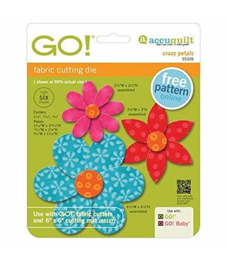 Accuquilt GO! Crazy Petals