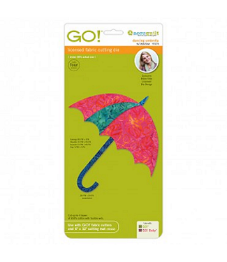 Accuquilt Go! Dancing Umbrella by Edyta Sitar