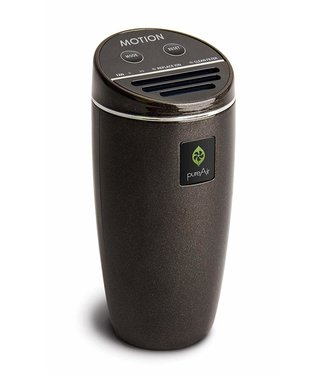 Greentech Greentech PureAir Motion Automobile Air Purifier - Black Rubberized