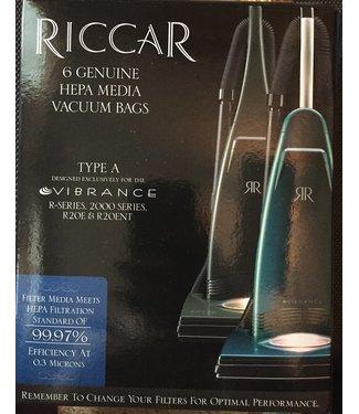 Riccar Riccar Vacuum Bag Hepa RAH-6 - VIB, R20E