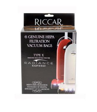 Riccar Riccar Vacuum Bag Hepa RXH-6 - RAD