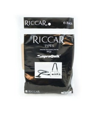 Riccar Riccar Vacuum Bag RSQ-6, Supraquik 6pk