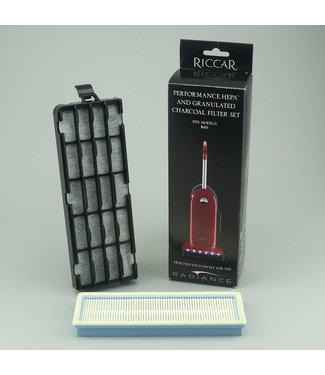 Riccar Riccar Vacuum Hepa Radiance Gradiance Charcoal Filter Set RF9G1