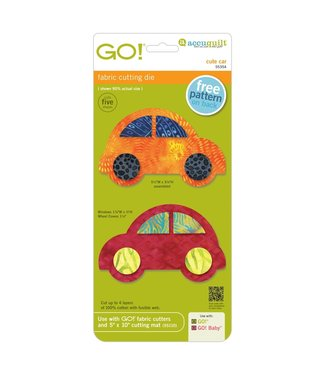 Accuquilt GO! Cute Car Die