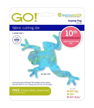 Accuquilt Go! Leaping Frog