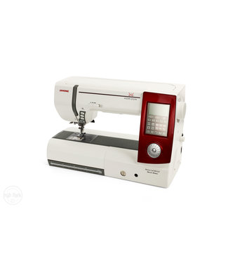 Janome Janome MC8900QCPLE Horizion Sewing Machine - Red