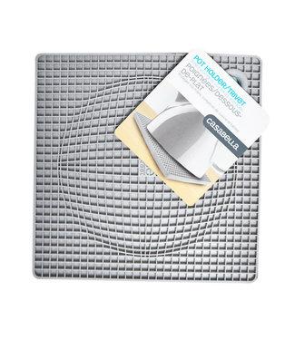 Casabella Silicone Pot Holder - Grey