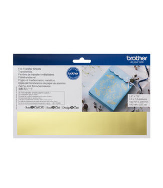 Brother Scan n Cut Foil Transfer Sheets - Gold