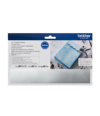 Brother Scan n Cut Foil Transfer Sheets - Silver
