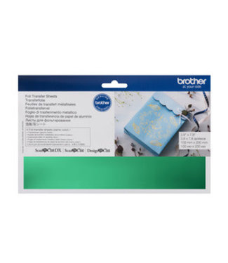 Brother Brother Scan n Cut Foil Transfer Sheets - Green