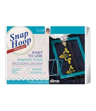 Dime Snap Hoop Monster 9.5x9.5 - LM10 - Brother