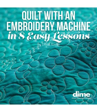 Dime Quilt With an Embroidery Machine Book