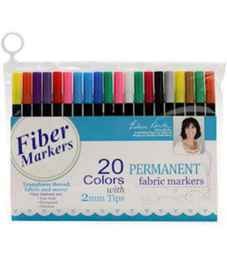 Dime Fabric Markers 20pk