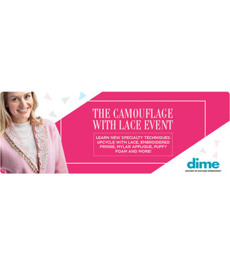 Dime Lace Event - 11/15 or 11/16 - 10am-3pm