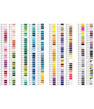 Floriani Floriani Thread Chart