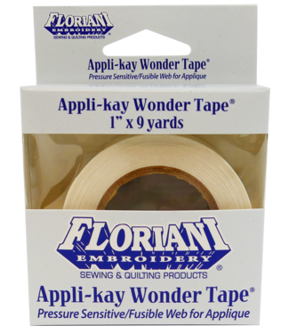 Floriani Floriani Appli-Kay Wonder 1x9yd Tape Roll