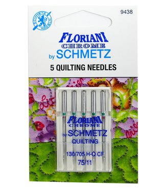 Floriani Floriani Chrome Quilting 75/11 Needles
