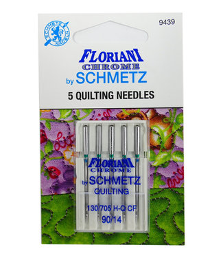 Floriani Floriani Chrome Quilting 90/14 Needles