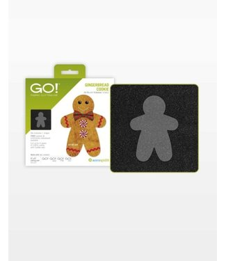 Accuquilt Go! Gingerbread Cookie - 55862