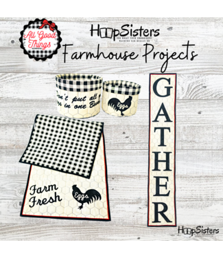 Hoopsisters 2021 March Farmhouse  Projects