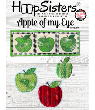 HoopSisters 2021 September  Apple of My Eye Projects