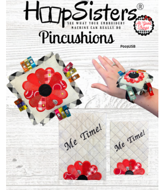 HoopSisters 2021 October Pincushions Projects