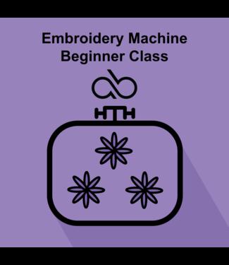 Beginner Embroidery Class