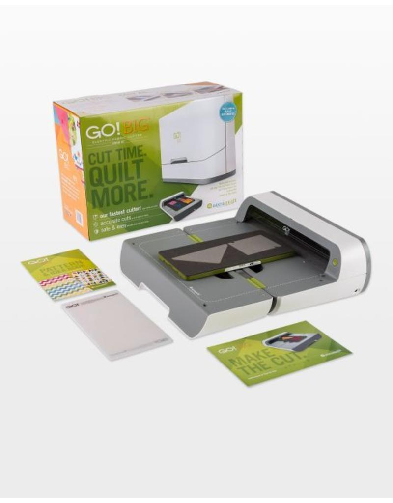 Accuquilt Go! Big Electric Fabric Cutter Starter Set