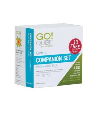 "Accuquilt Go! Qube 6"" Companion Set - Corners"