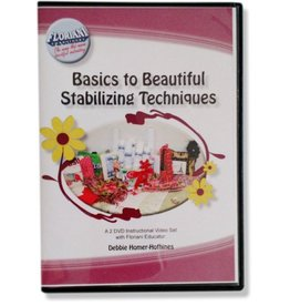 Floriani Floriani Basics to Beautiful Stabilizing Techniques DVD