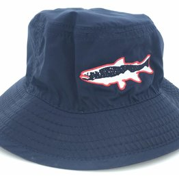 Big Sky Anglers Big Sky Anglers Youth Performance Bucket Navy Trout