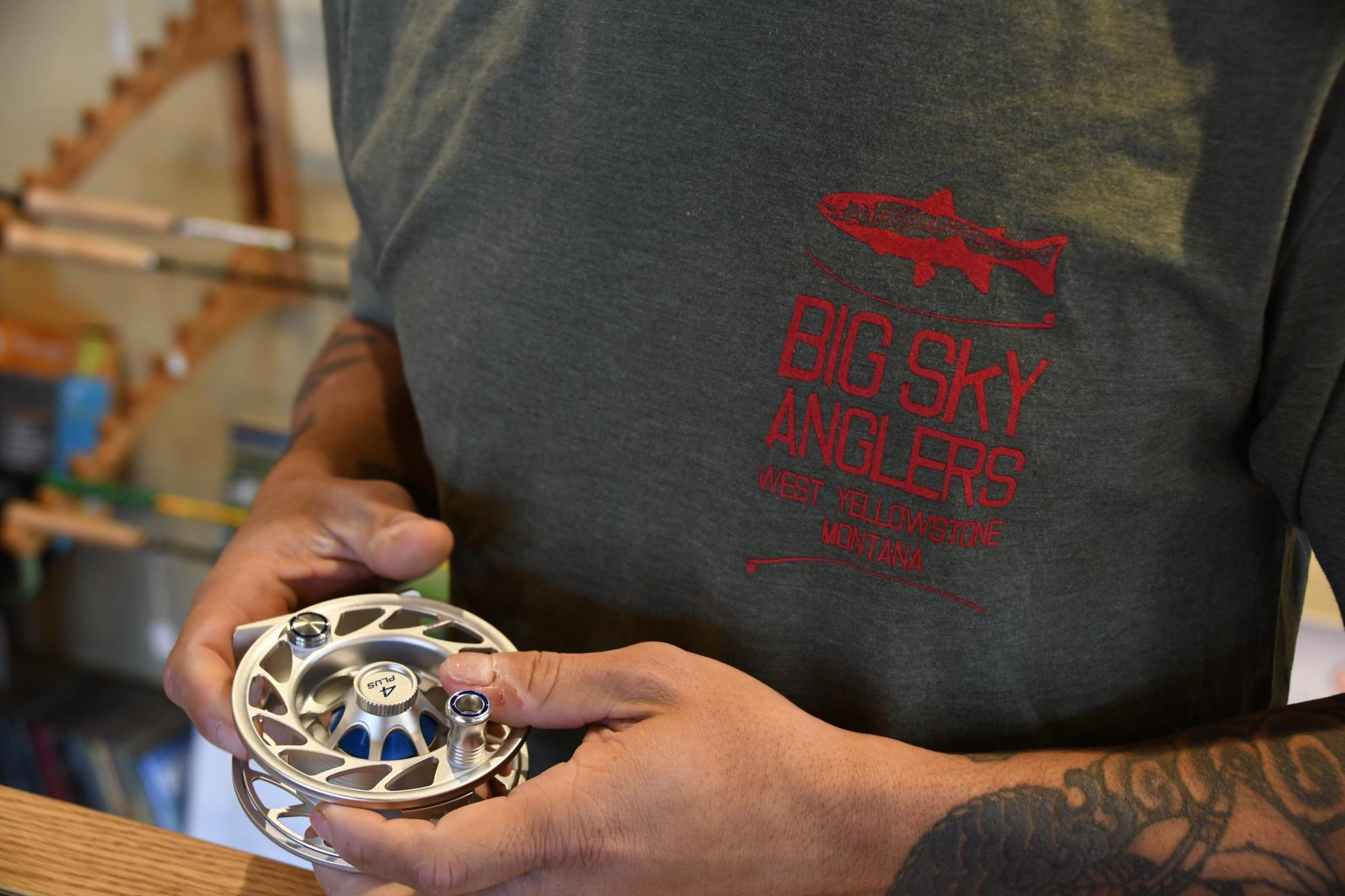 Big Sky Anglers BSA Stack Logo T-Shirt