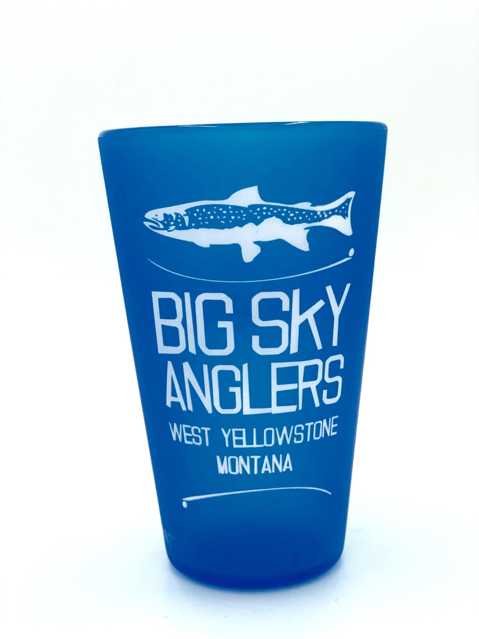 Big Sky Anglers Big Sky Anglers Stack Logo Silipint 16 Oz.