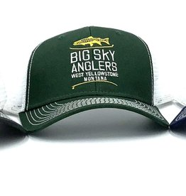 Big Sky Anglers Big Sky Anglers Sideline Cap Stack Logo