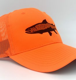 Big Sky Anglers BSA Dynasty Cap Blaze Orange Trout