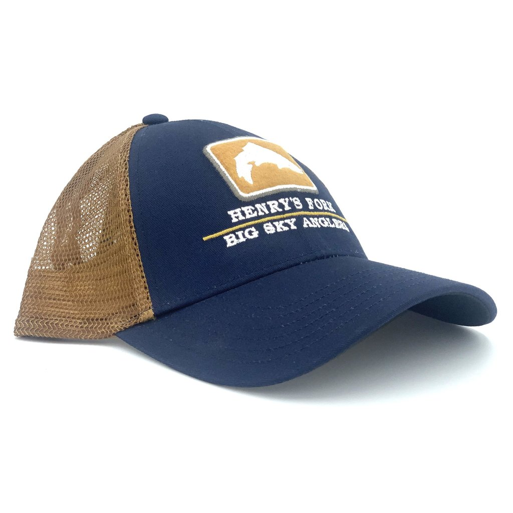 Big Sky Anglers BSA Simms Rivers Trucker Hat