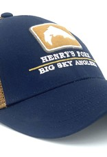 Big Sky Anglers BSA Simms Rivers Trucker Hat