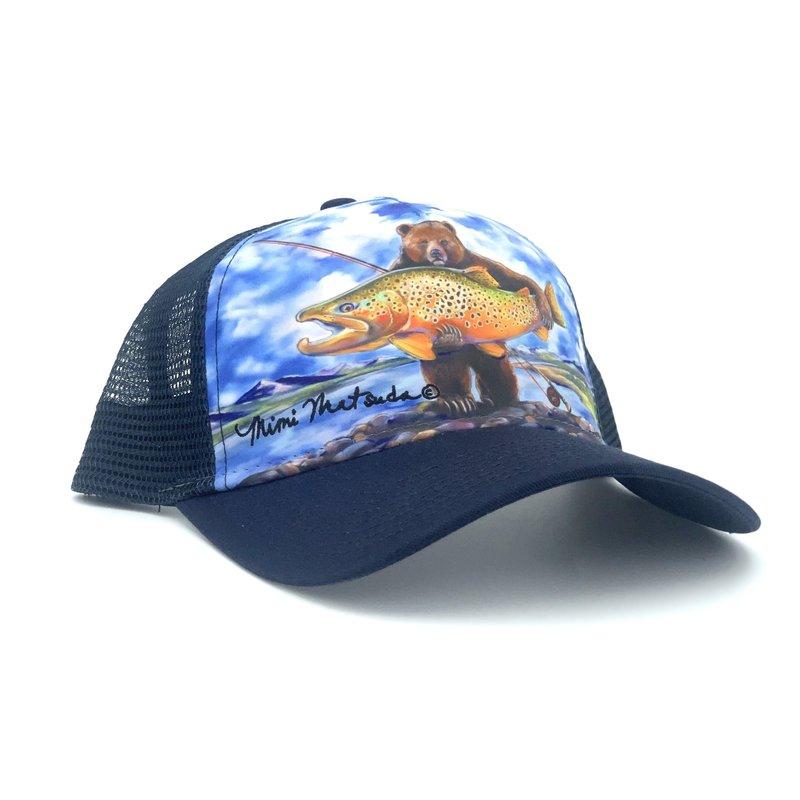 Big Sky Anglers Mimi Matsuda - Big Browns Trucker Hat