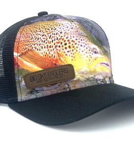 Big Sky Anglers Big Sky Anglers Brown Trout Trucker Hat