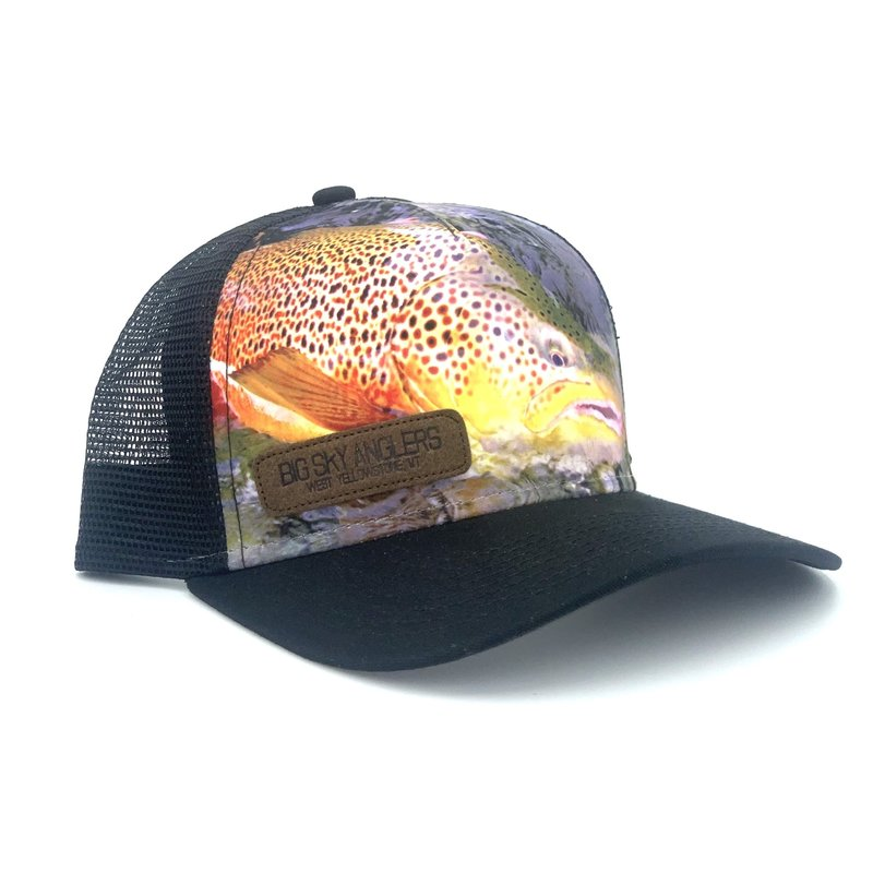 Big Sky Anglers Big Sky Anglers Brown Trout Trucker Hat