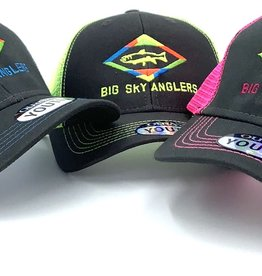 Big Sky Anglers Big Sky Anglers Youth Sideline Cap Diamond Trout